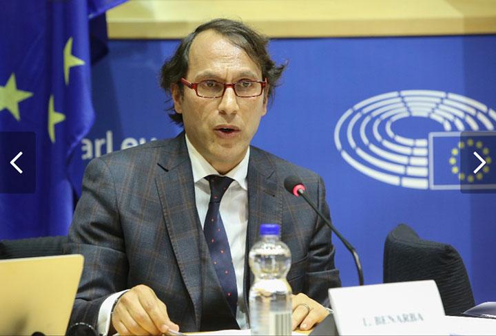 Lahouari Benarba, Secretary General of Les Jeunes du Monde Unis was invited as speaker at the European Parliament